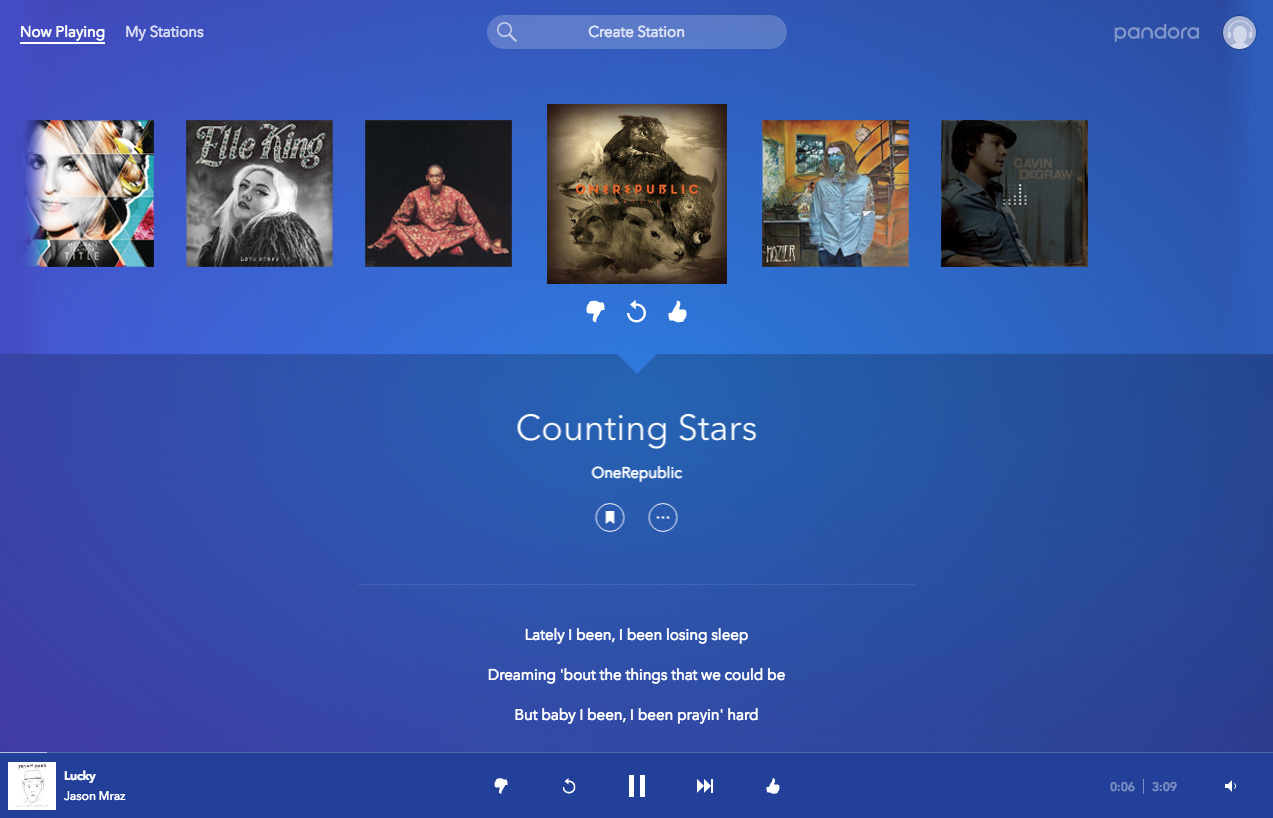 Introducing Our Brand New Web Experience – Pandora Blog