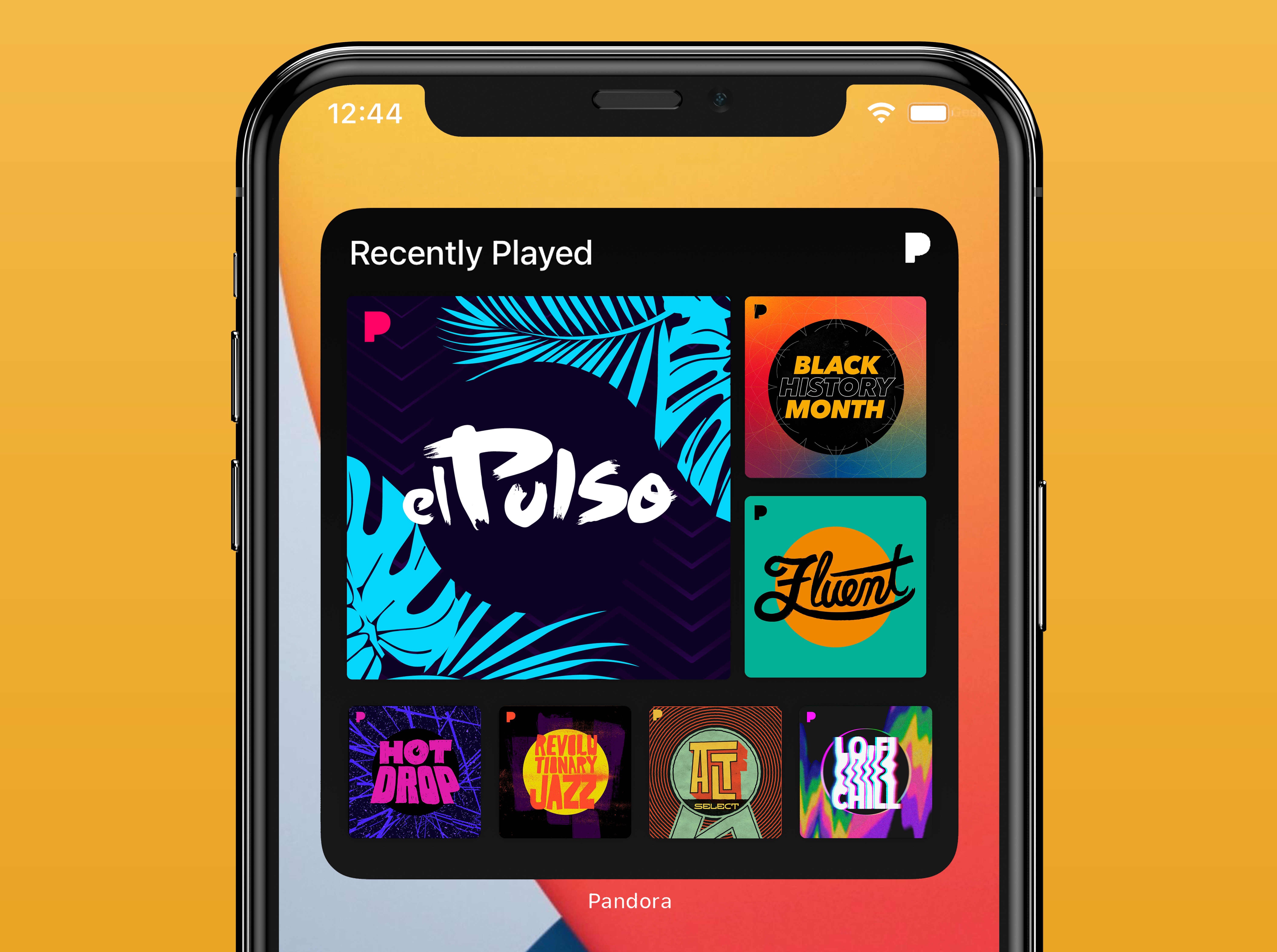 New Pandora Home Screen Widget for iOS and iPadOS Available Now